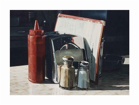 perth diner still life by ralph goings