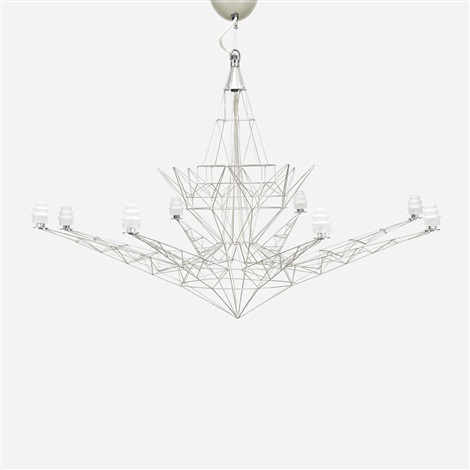 lightweight chandelier by tom dixon