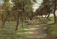 schafherde by max liebermann