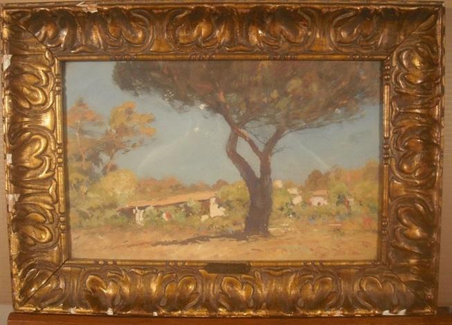maison sous le pin parasol by louis alexandre cabié