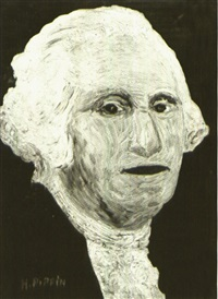 portrait of george washington by horace pippin