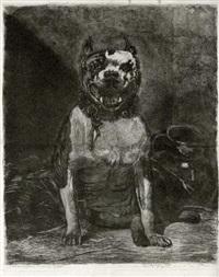 chien de face by ludovic lepic