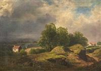 view near maidenhead. (1836) by james stark