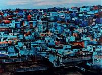 la ville bleue, jodhpur, rajasthan by steve mccurry