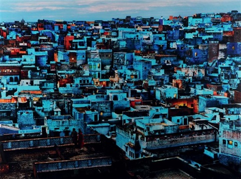 la ville bleue jodhpur rajasthan by steve mccurry