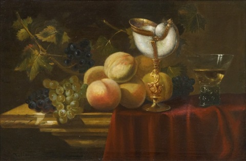 still life by antoine vollon