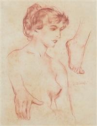 studio per figura by ambrogio antonio alciati