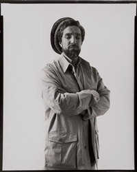 le commandant ahmad shah massoud, paris, 8 avril by jonathan zabriskie