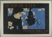 victor bicycles overman wheel co. by william bradley