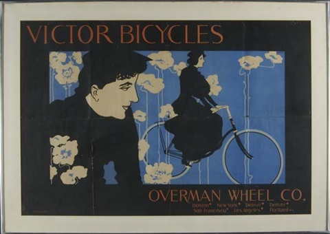 victor bicycles overman wheel co by william bradley