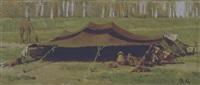 tenda di fellah-egitto by roberto guastalla