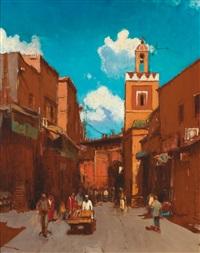l'entrée du souk à marrakech by stéphane javier