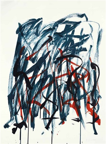 brush state i from bedford series by joan mitchell