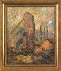 industrial landscape by herbert nelson hooven
