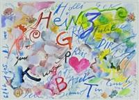 künstlerbrief by jean tinguely