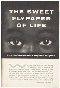 the sweet flypaper of life (bk w/text by langston huges; w/141 works, folio) by roy decarava