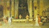 the game of billiards by francesco beda