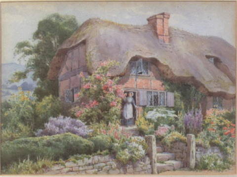 the country cottage by maud hollyer