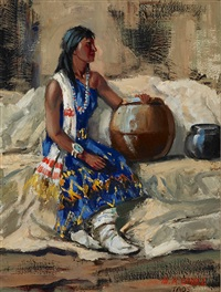 girl of taos by marco antonio gomez