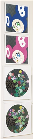and then and then and then and then and then blue 3 others 4 works by takashi murakami