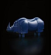 rhinoceros bleu by françois-xavier lalanne