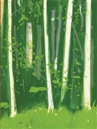poplars #1 by alex katz