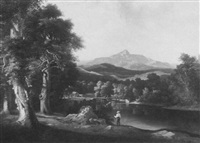 bear camp river and chocorua peak from west ofsipee (sic) n.h. by william g. boardman
