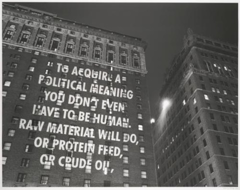 to acquire by jenny holzer
