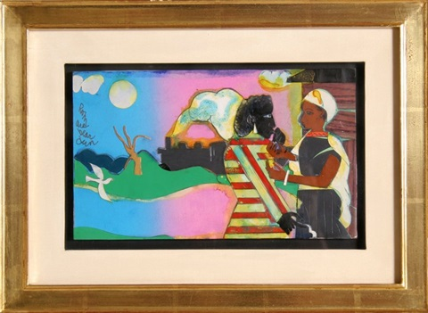 memories 2 by romare bearden