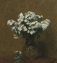 phlox blancs dans un vase by henri fantin-latour