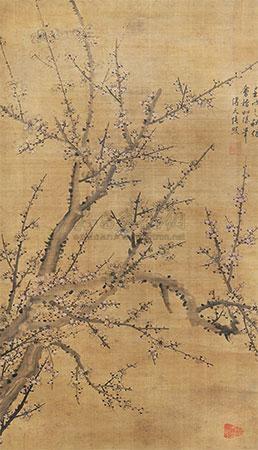 梅花图 by zhang zhao