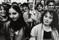 manifestations du mouvement des étudiants, paris (2 works) by william klein