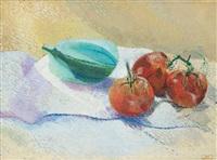 nature morte aux tomates by dora maar