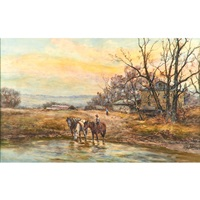 horses by frank f. english
