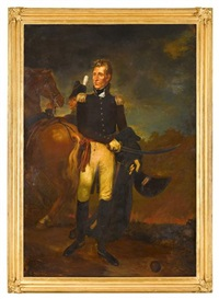 portrait of andrew jackson (1767-1845) by emanuel gottlieb leutze