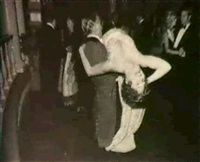 woman being carried at a dance by geoff winningham