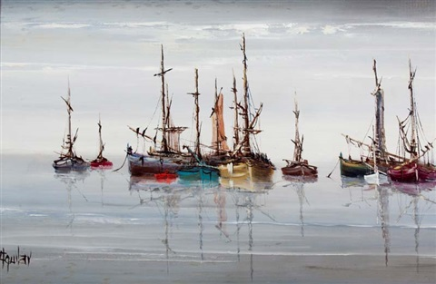 boats at rest by jorge aguilar agon