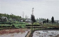 田园思 (landscape) by lin mao