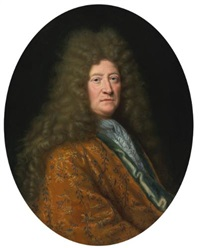 portrait of the edouard colbert, marquis de villacerf by pierre mignard the elder
