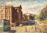 college street, sydney by john terence santry