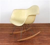 Schaukelstuhl RAR, 1948. Charles Eames. Schaukelstuhl RAR, 1948