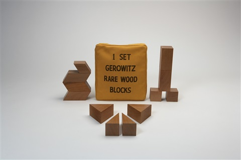 wood blocks by judy chicago