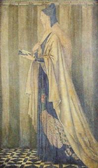 vespers by george woolliscroft rhead