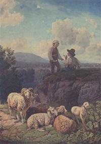 Robert Eberle Auction Results - Robert Eberle on artnet   {Herde 96}