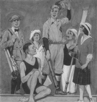 summer sports by charles m. relyea