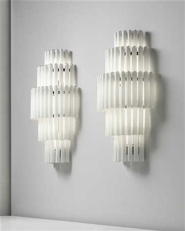 Large wall lights designed for the central station milan pair by large wall lights designed for the central station milan pair by melchiorre aloadofball Image collections