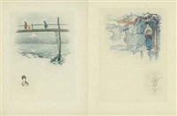 asie (65 works) by henri (hirne) le riche