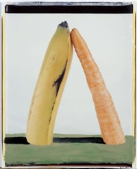 landscape with banana & carrot by iain baxter