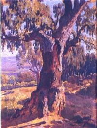 paisaje con árbol by rufino martos