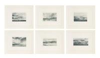 kanarische lanschaften ii (canary landscapes ii) (portfolio fo 6) by gerhard richter